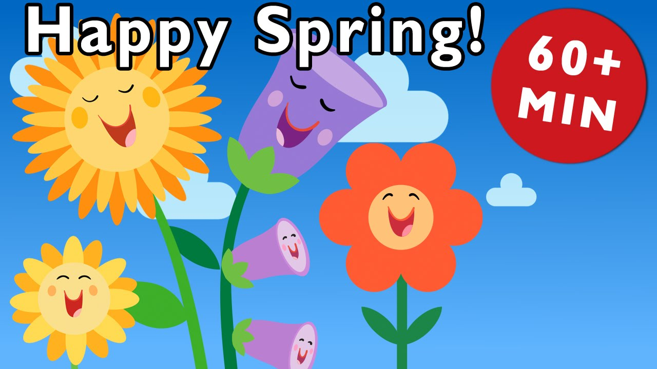 Spring Rhymes Nursery From Mother Goose Club