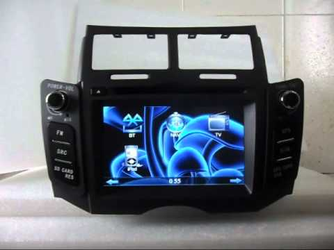 toyota yaris dvd player toyota yaris dvd navigation. Black Bedroom Furniture Sets. Home Design Ideas
