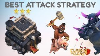 TH 9 BEST ATTACK STRATEGY 2018 [HINDI] - CLASH OF CLANS