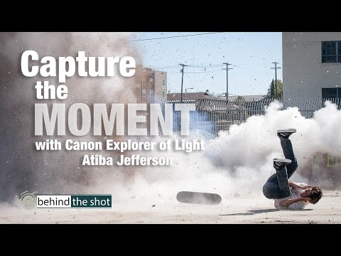 Capturing the Moment with Canon Explorer of Light Atiba Jefferson