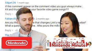 Nintendo Minute – Comment Time!