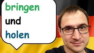 bringen i holen - Słowo na dziś - język niemiecki - gerlic.pl