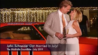 John Schneider Gets Married 2019