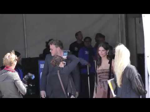 Emily Ratajkowski with her husband Sebastian Bear-McClard looking cute together