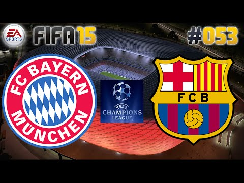 FIFA 15 #053 FC Bayern vs. FC Barcelona ★ Champions League ★ Let's Play FIFA 15 Multiplayer Deutsch