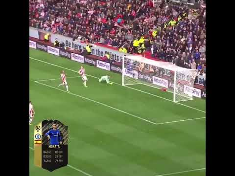 Download What a goal by Morata vs stoke