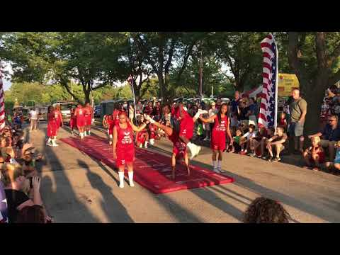 Jesse White tumblers | Channahon Three Rivers Festival 2018