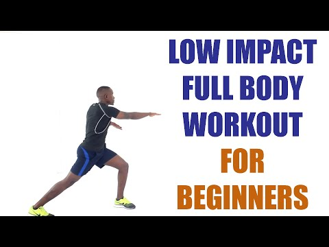 Low Impact Full Body Workout for Beginners at Home | No Repeats | No Weights