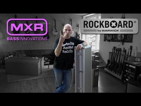 Rockboard And MXR Pedal Unboxing