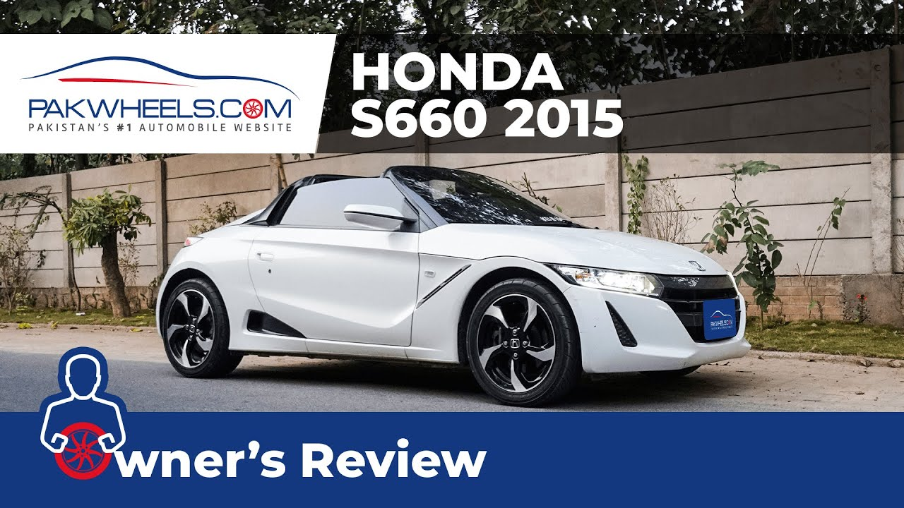Honda S660 Turbo 2015 Owner S Review Price Specs Features Pakwheels Youtube