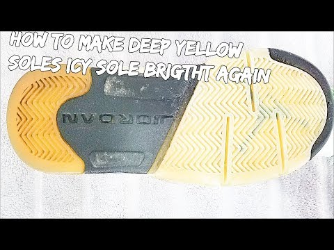 How To Make Deep Yellow Soles Icy Sole Bright Again