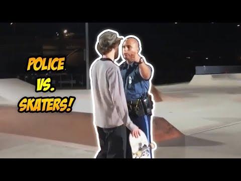 SKATERS vs THE WORLD #53! | Skateboarder Wrongfully Arrested! (2018)