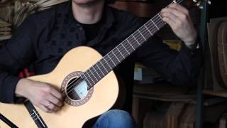 Hofner HGL5 classical guitar demo