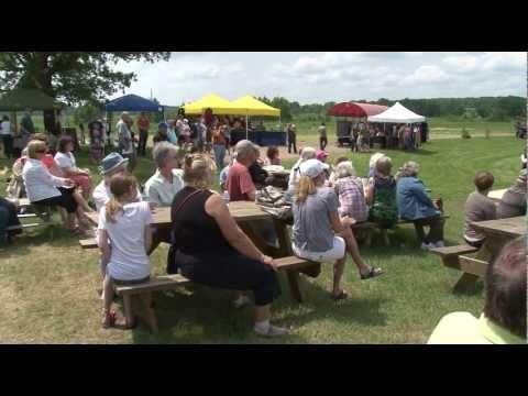 Northwoods Adventure St. Mathias Celtic Festival - Lakeland News at Ten - June 28, 2011.m4v