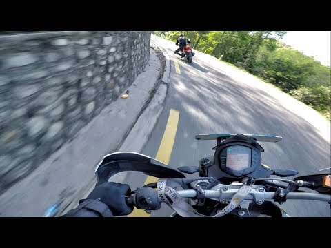 CHASING INDIAN PANIGALE APACHE 310 RR SPOTED