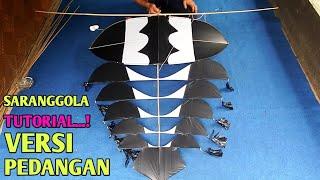 Download tutorial cara membuat layangan sawangan versi pedangan II how to make kite sawangan II saranggola