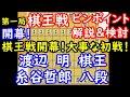 第一局決着! 第46期 棋王戦 渡辺明棋王 vs 糸谷哲郎八段 ピンポイント解説 【将棋】