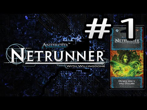 Android Netrunner Data Pack Review: Democracy And Dogma - Runner Cards