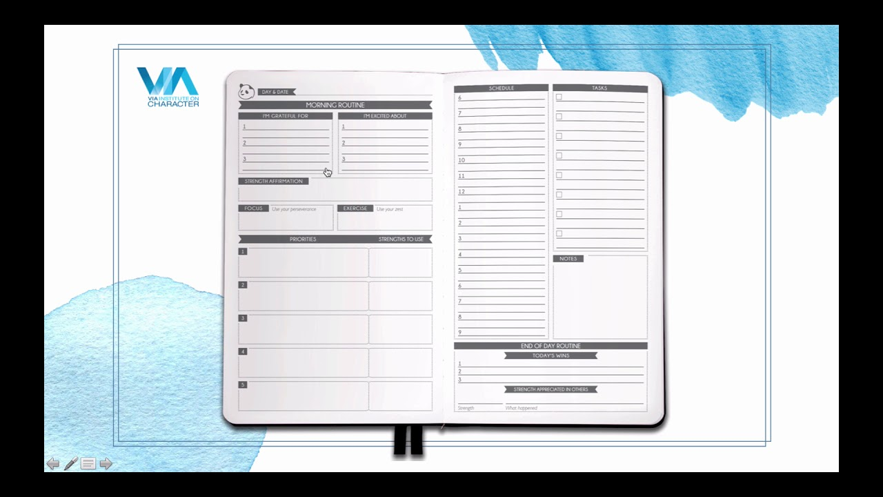 How to use your panda planner via quickest quick start for For planner