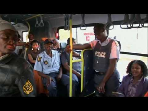 South African taxi drivers angry over new buses - 4 Sep 09
