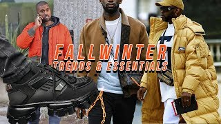 FALL WINTER 2019 Fashion Trends | EVERYTHING YOU NEED Men's Fashion Essentials Video