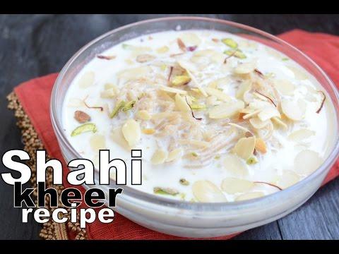 Shahi kheer recipe - Rabri kheer recipe