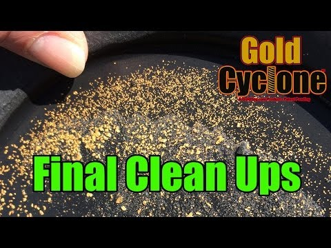 Cleaning Gold Concentrates - The Gold Cyclone