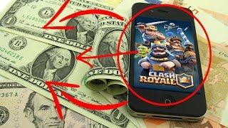 Где можно заработать кристалы для clash royale и clash of clans