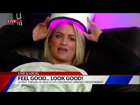 Latest Trends in Health Live & Local from Colorado Springs Cryotherapy on FOX21 Morning News