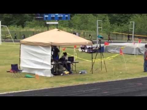 Suitland HS Track 5/10/14 800m Run Antony Collington