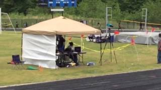 Suitland HS Track 5/10/14 800m Run Antony Collington