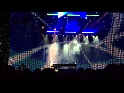 "Elton John at Verizon Civic Center, Mankato MN ""Rocket Man"""