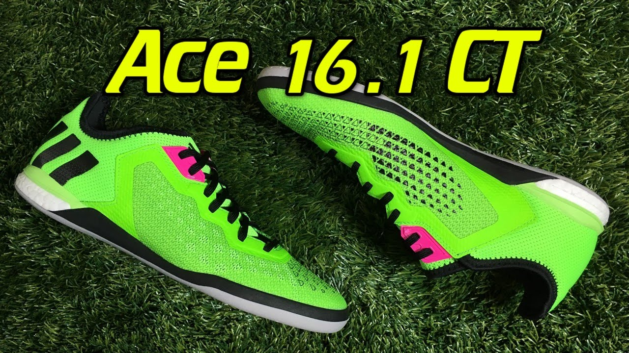 best sneakers 2ba68 1c7ab Adidas ACE 16.1 CT Boost Indoor Solar Green - Review + On Fe