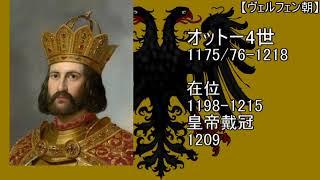 【ゆっくり君主紹介】歴代の神聖ローマ皇帝