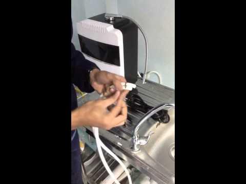 การติดตั้งเครื่องทำน้ำด่างด้วยตนเอง ( astv )