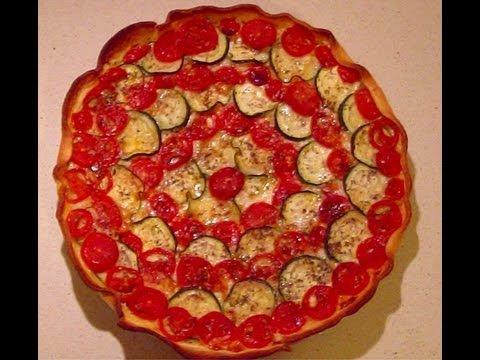 Torta salata pomodori e zucchine facile ed estiva for Torte salate facili