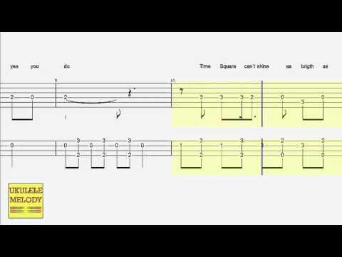 Ukulele Tab - Guitar Tab - Hey There Delilah - Duet