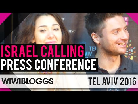 Israel Calling 2016 - Tel Aviv Eurovision Party - Press Conference | wiwibloggs
