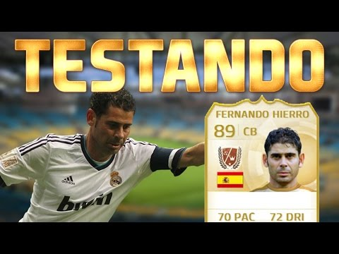 FIFA 15 - TESTANDO FERNANDO HIERRO LEGEND!