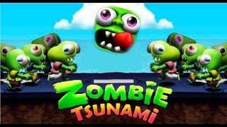 Zombie Tsunami #7 Игровой мультик для детей про зомби, веселый детский мультик игра для малышей