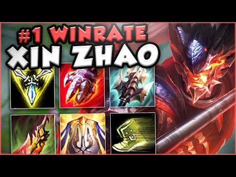 WOW! FREE ELO CHAMPION! #1 WINRATE IN THE GAME! XIN ZHAO TOP GAMEPLAY! - League of Legends Gameplay