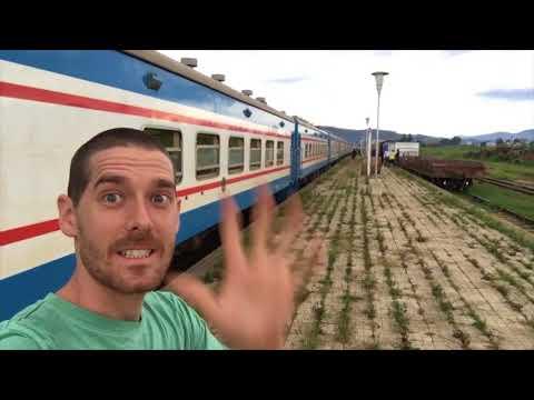El tren Tazara: des de Zambia fins a Tanzania