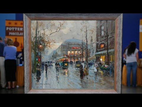 Top Finds: 1959 Édouard Cortès Oil Painting