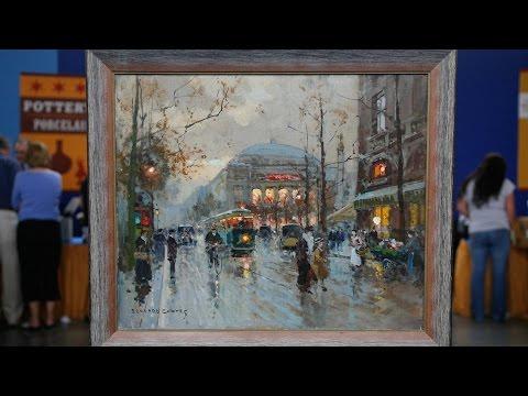 Top Finds: 1959 Édouard Cortès Oil Painting