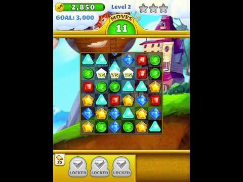 Jewel Mania ipad ios gameplay