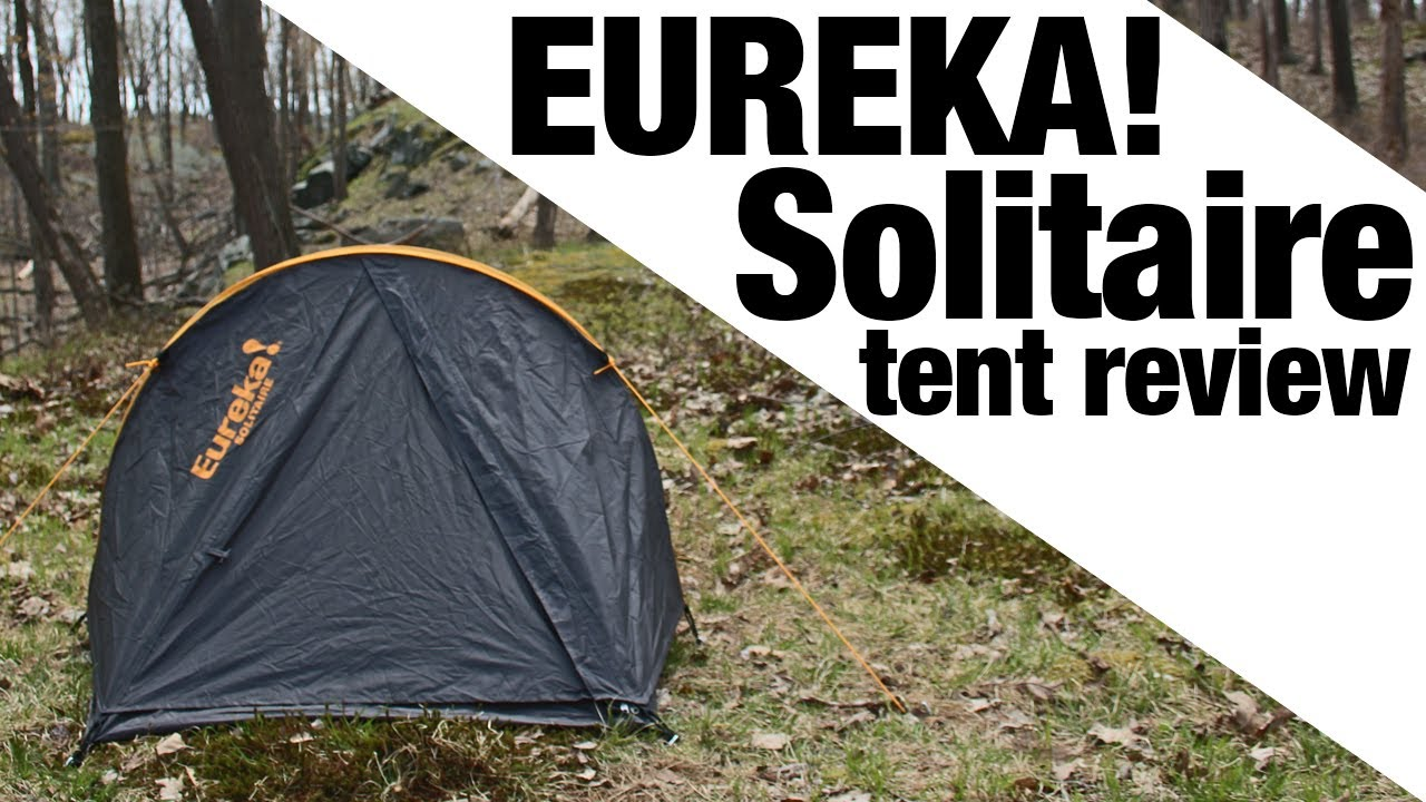 & EXCLUSIVE: Eureka! Solitaire Tent - YouTube