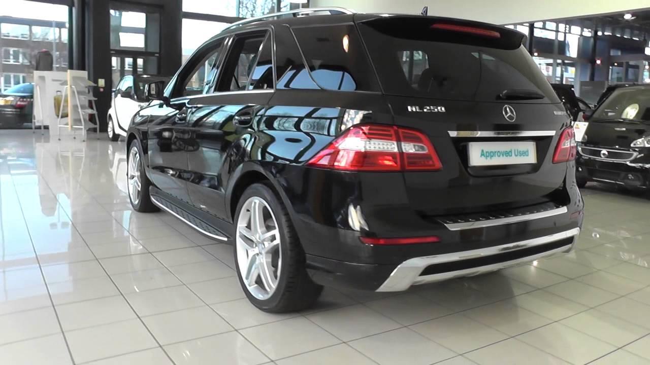 mercedes benz m class ml250 cdi bluetec amg sport 5dr auto. Black Bedroom Furniture Sets. Home Design Ideas
