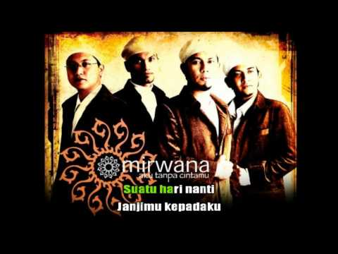 Mirwana - Takdir Penentu [Karaoke Lirik Lagu]