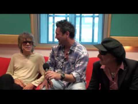 Huey Morgan chats to the New York Dolls