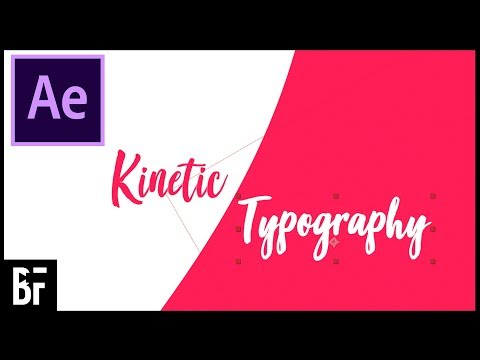 Lyric Video Tutorial (Kinetic Typography)